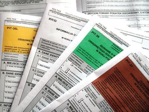 Przyjmowanie zeznań podatkowych