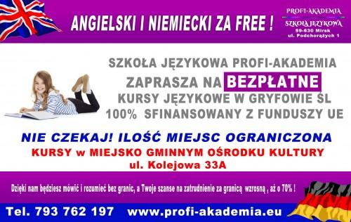 Bezpłatne kursy językowe