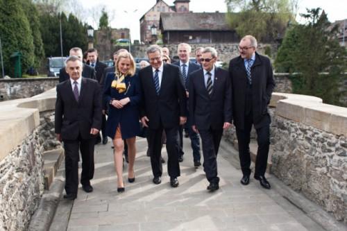 Prezydent w powiecie lubańskim