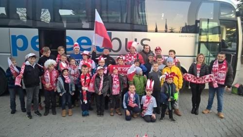 Szkółka Piłkarska UKS Gryfów kibicowała POLAKOM