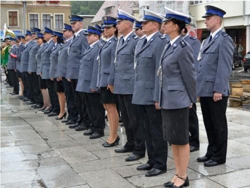 Powiatowe Święto Policji w Gryfowie Śląskim