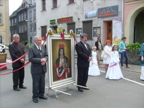 Boże Ciało z udziałem ZSOiZ im. Jana Pawła II w Gryfowie Śląskim