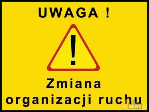 Uwaga zmiana organizacji ruchu na ul. Młyńskiej