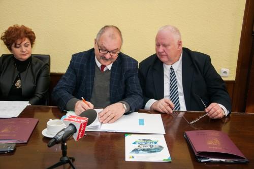 Podpisanie umowy na modernizację oczyszczalni ścieków w Gryfowie Śl.