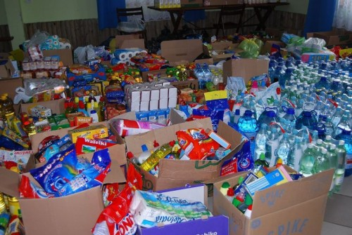 Zbiórka darów dla powodzian
