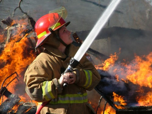 Strażacy zdają sprawę