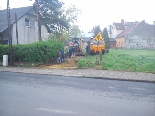 Remont dojazdu do posesji  przy ulicy Lwowskiej