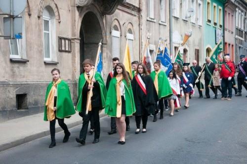 Uroczystość obchodów Konstytucji 3 Maja w Gryfowie Śląskim