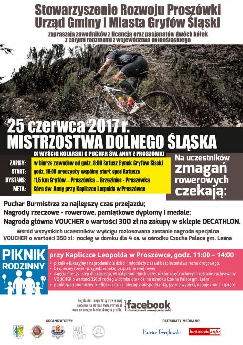 Wyścig MTB o Puchar Św. Anny z Proszówki