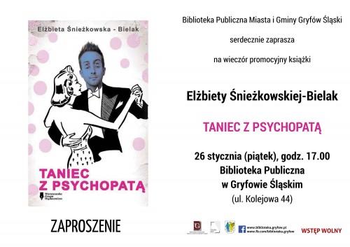 Promocja książki Taniec z psychopatą