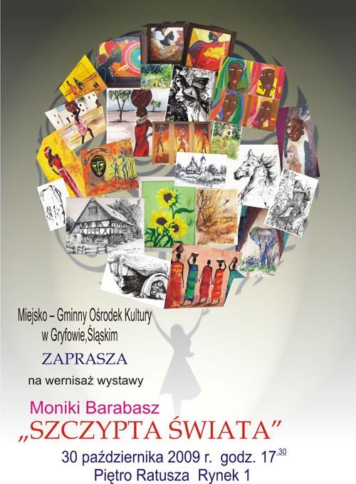 Wernisaż wystawy Moniki Barabasz