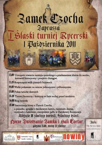 I Śląski Turniej Rycerski – 01.10.2011r.