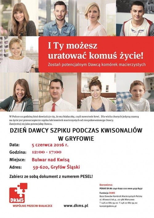 Dzień Dawcy Szpiku w Gryfowie Śląskim