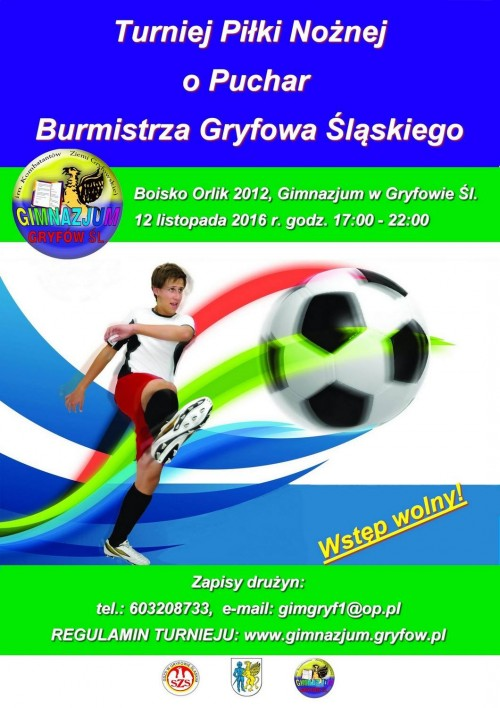 Turniej Piłki Nożnej o Puchar Burmistrza Gryfowa Śląskiego