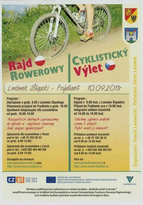 Rajd Rowerowy Lwówek – Frydlant