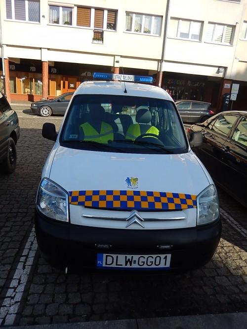 Straż Miejska w Gryfowie Śląskim dysponuje samochodem służbowym