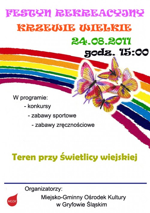 Festyn rekreacyjny w Krzewiach Wlk.