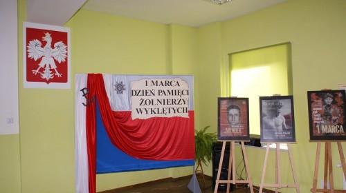Narodowy Dzień Pamięci o Żołnierzach Wyklętych w ZSOiZ w Gryfowie Śl.