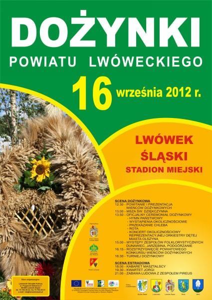 Dożynki Powiatu Lwóweckiego