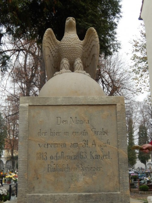 Zakończenie remontu pomniku żołnierzy carskiej Rosji