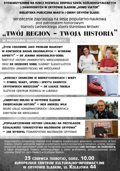 Twój Region – Twoja Historia