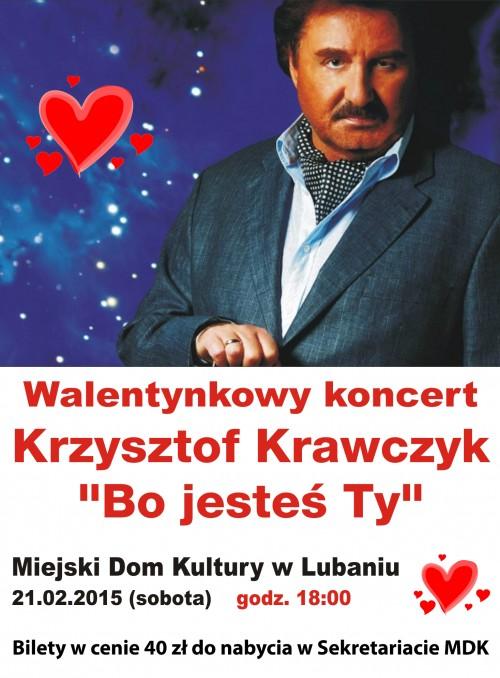 Krzysztof Krawczyk w Lubaniu