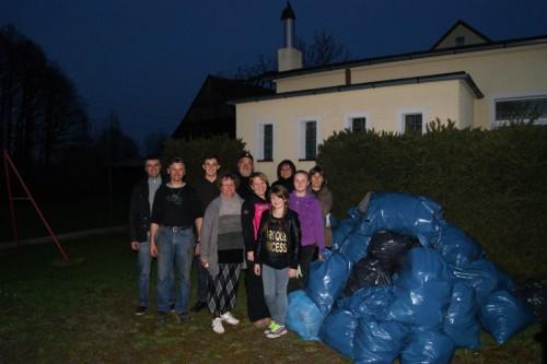 Sprzątanie wsi Proszówka