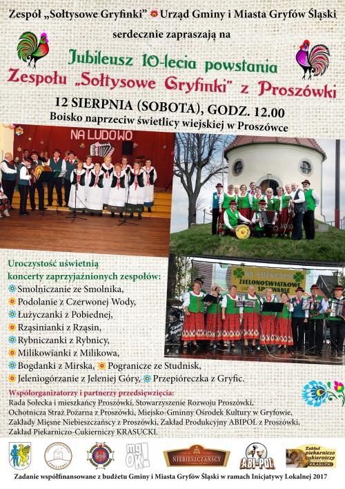 10-lecie zespołu Sołtysowe Gryfinki