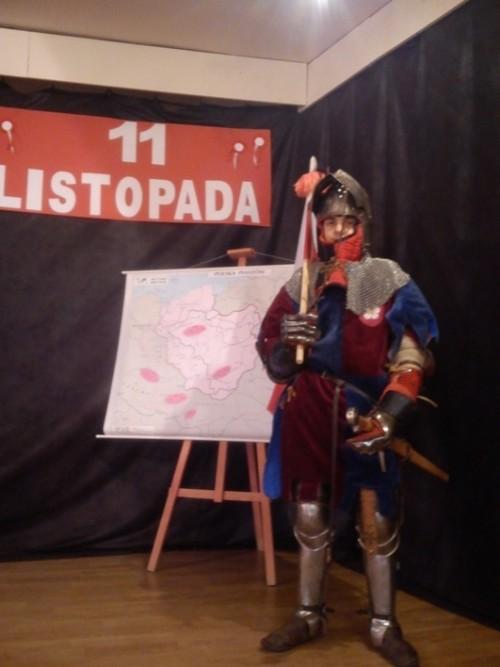 Święto Niepodległości w ZSOiZ w Gryfowie Śląskim