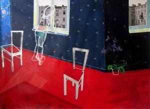 Interior – malarstwo – Maria Skrzypińska