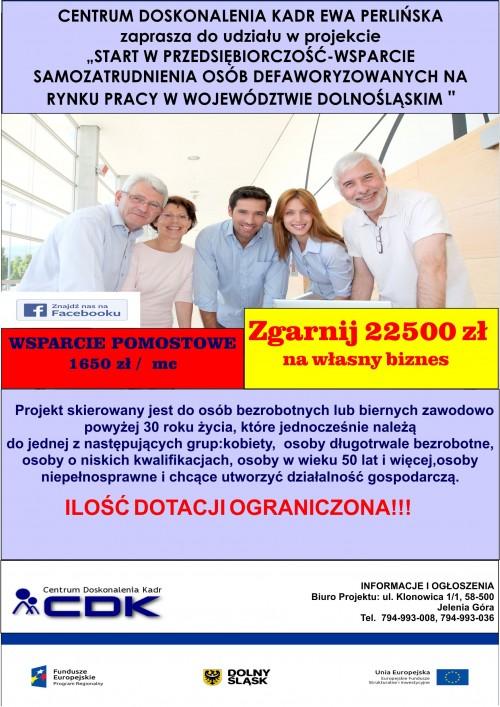 Projekt dotyczący samozatrudnienia