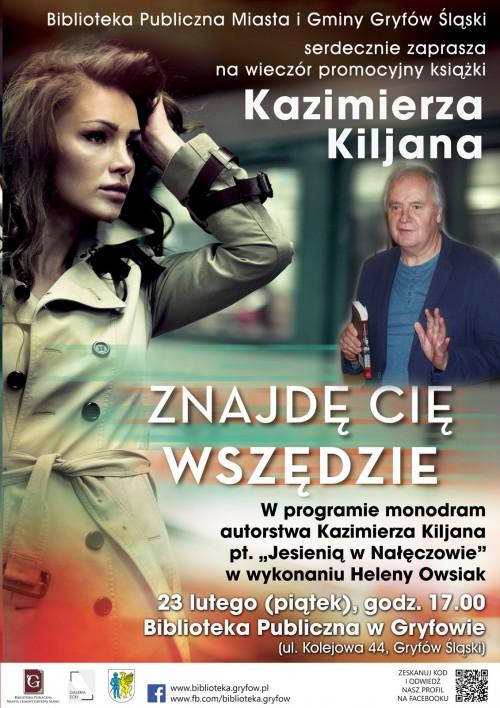 Wieczór promocyjny książki Kazimierza Kiljana