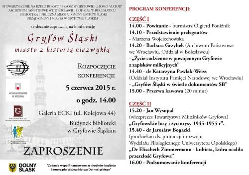 Zaproszenie na konferencje