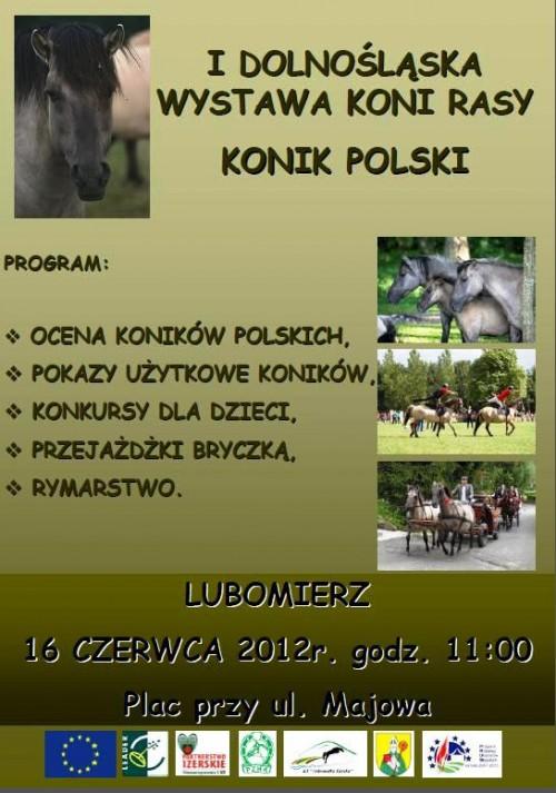 I Dolnośląska Wystawa Koni rasy Konik Polski w Lubomierzu