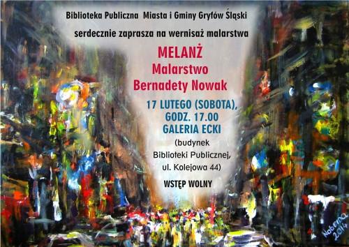 Wernisaż malarstwa Bernadety Nowak