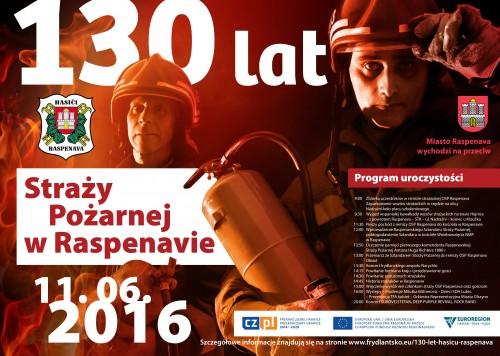 Obchody 130 lecia Straży Pożarnej w Raspenavie