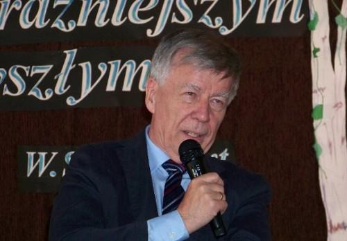 Profesor Miodek w Gryfowie