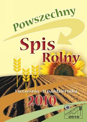 Spis Rolny 2010