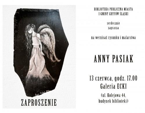 Zaproszenie na wernisaż rysunku i malarstwa