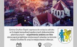 Planowanie przestrzenne w gminie – II edycja konsultacji społecznych