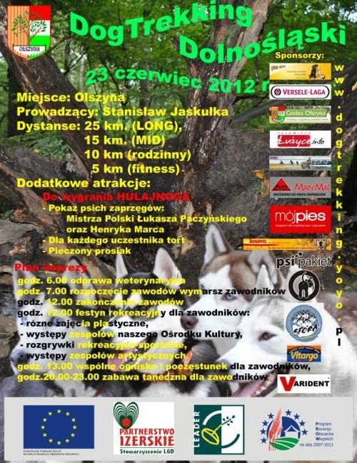 Dog Trekking – 23 czerwca 2012 r. Olszyna