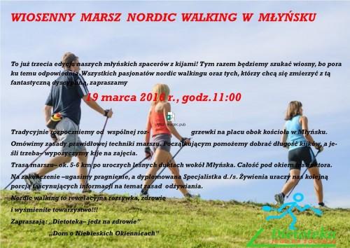 Wiosenny Marsz Nordic Walking