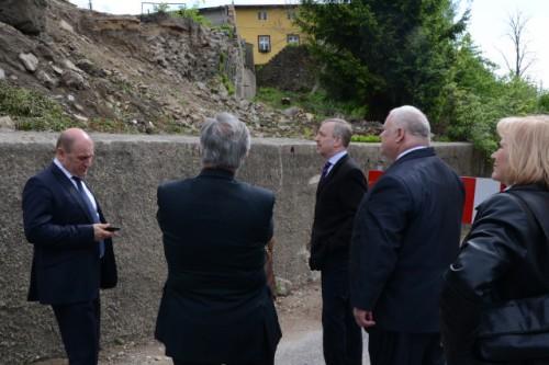 Robocze spotkanie Burmistrza z Ministrem