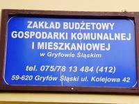 Informacja dla klientów ZBGKiM Gryfów Śląski