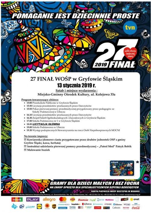 27 Finał WOŚP w Gryfowie Śląskim