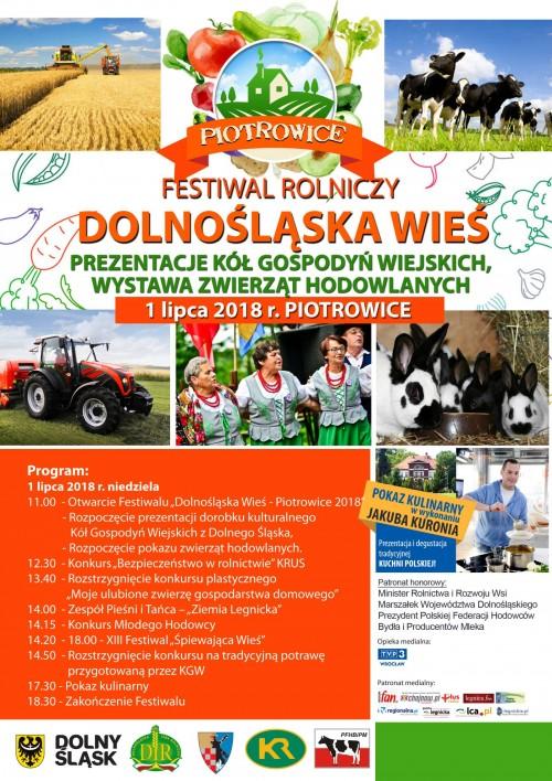 Zaproszenie na Festiwal Rolniczy Dolnośląska Wieś