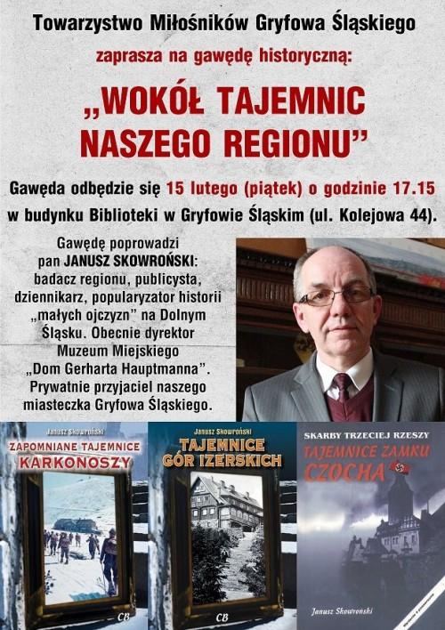 Gawęda historyczna Wokół tajemnic naszego regionu