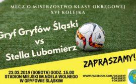 Derby powiatu lwóweckiego na inaugurację piłkarskiej wiosny!