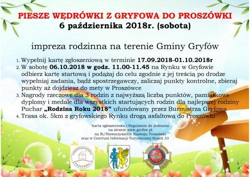 Piesze Wędrówki z Gryfowa Śląskiego do Proszówki