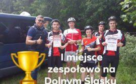 Kolejny wielki sukces młodych kolarzy z ZSOiZ im. Jana Pawła II w Gryfowie Śląskim